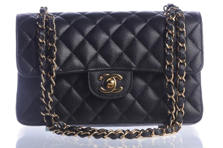 043e6f0828f14 Pudełko w którym przychodzi torba jest czarne z białym napisem