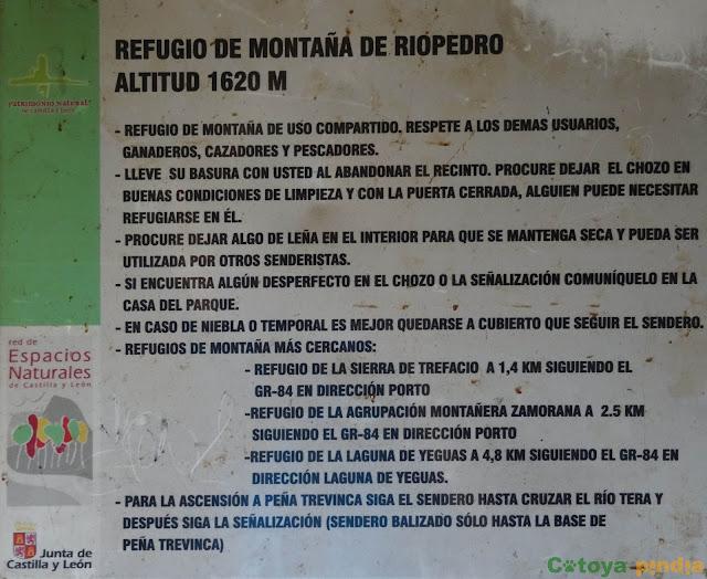 Refugio de Riopedro en la ruta a Peña Trevinca