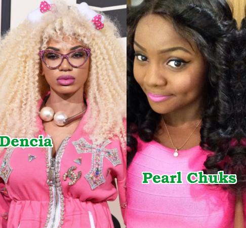 dencia lying pearl chuks