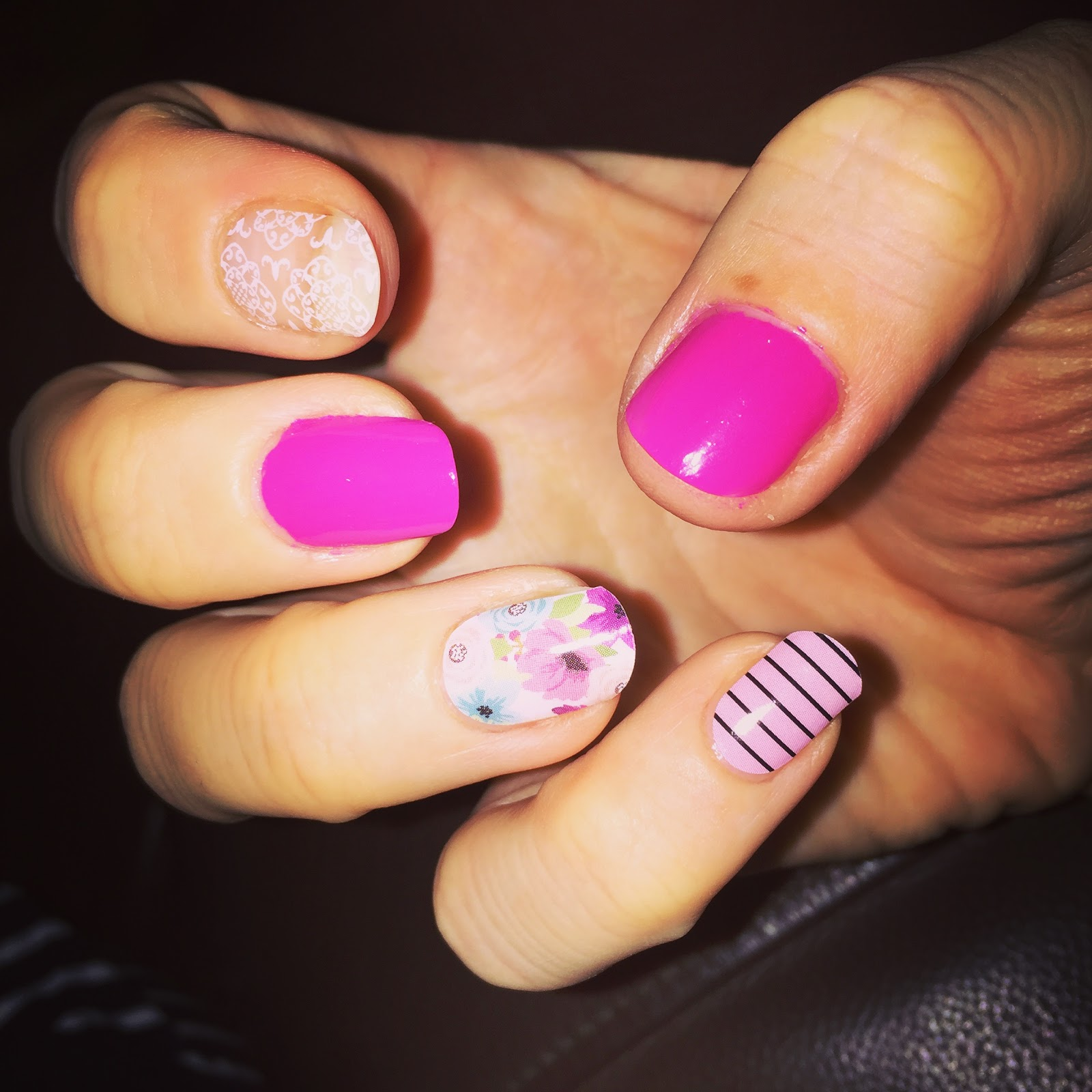 Mrs Bishop\'s Bakes and Banter: Jamberry Nail Wraps *REVIEW*