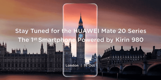 Huawei Mate 20 Flagship Smartphone