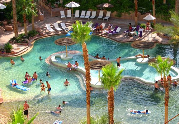 Piscina do Hard Rock Hotel em Las Vegas