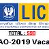 LIC AAO - 2019 | 590 Vacancies