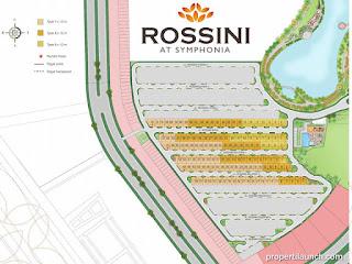 Siteplan Cluster Rossini