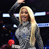 Cardi  B barks at security guard who tried to pull her skirt to stop her from exposing her panties (video)
