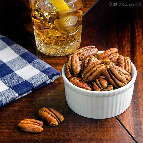 Spicy Roast Party Nuts
