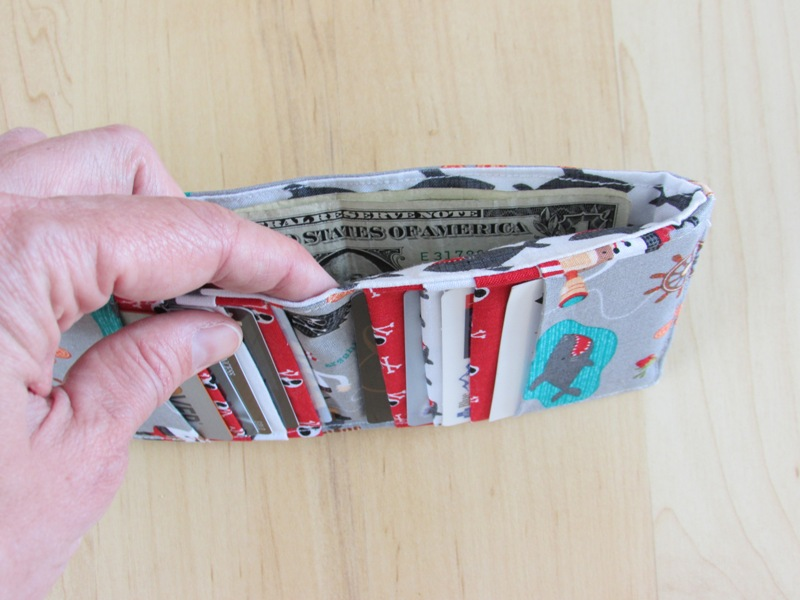 Create Kids Couture: Hidden Treasure: Free Wallet Pattern for Men ...