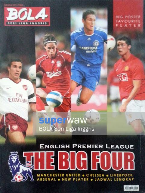 BOLA Seri Liga Inggris THE BIG FOUR