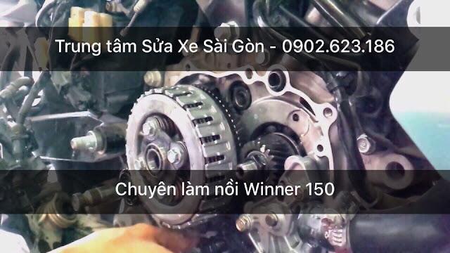 Chuyên làm nồi xe Honda Winner 150 chạy mạnh êm bốc hơn uy tín tại TpHCM
