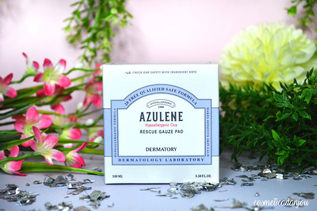 Dermatory Azulene Hypoallergenic Cica Rescue Gauze Pad Review