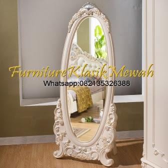 Kaca Cermin Ukir Jepara,Furniture Ukir Jepara,Furniture Klasik Mewah