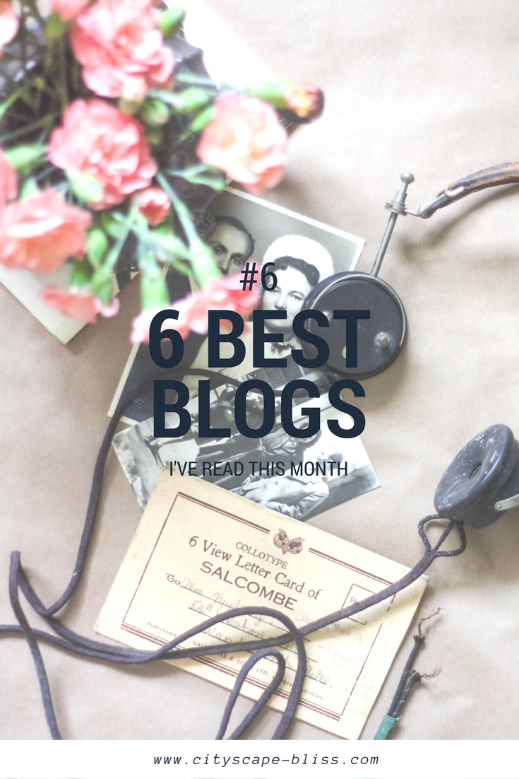 6 blogs I've actually read in May