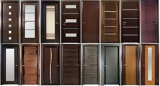 Çeşitli renklerde ve şekillerde çelik kapı modelleri