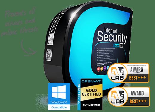 Comodo Internet Security 10.2 - Δωρεάν προστασία από ιούς με ενσωματωμένο Firewall