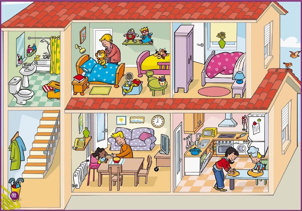 Maestra de primaria planos de viviendas dependencias de for Todo para casa