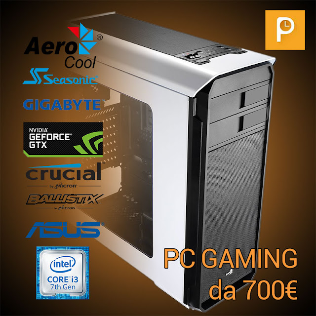 PC Gaming da 700€ – Gennaio 2017