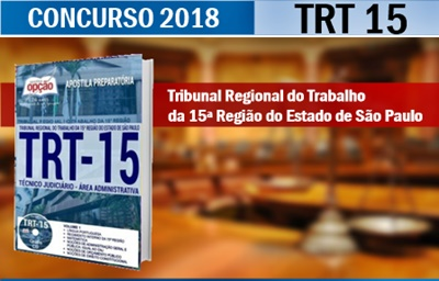 Concurso TRT 15ª Região 2018