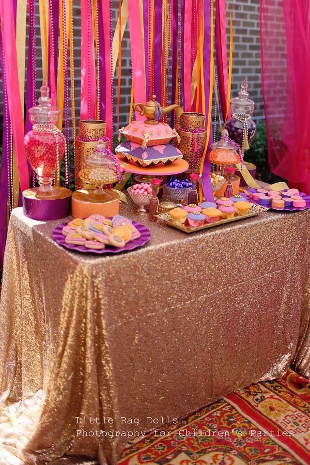 Moroccan Birthday Cake