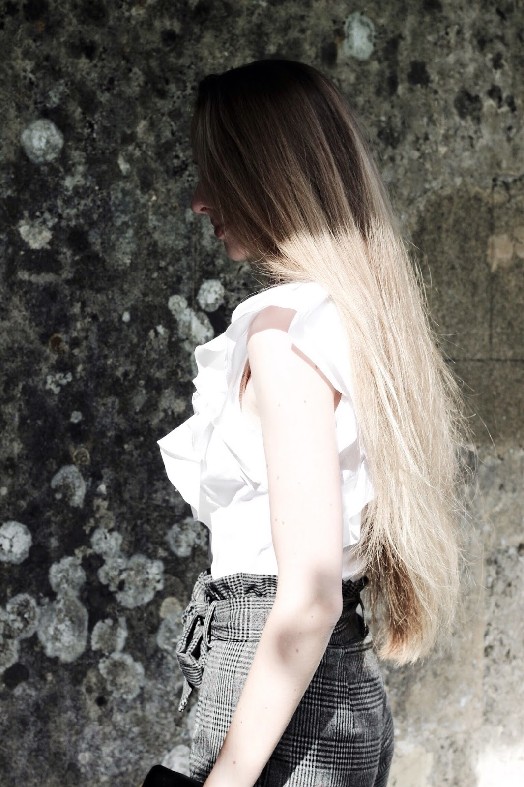 Karen Millen White The Super Frill Shirt Blog Styling