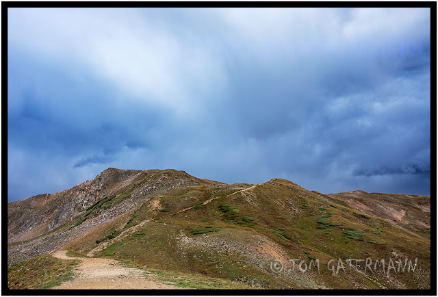 A trail on the Continental Divide - Loveland Pass - Rocky Mountains