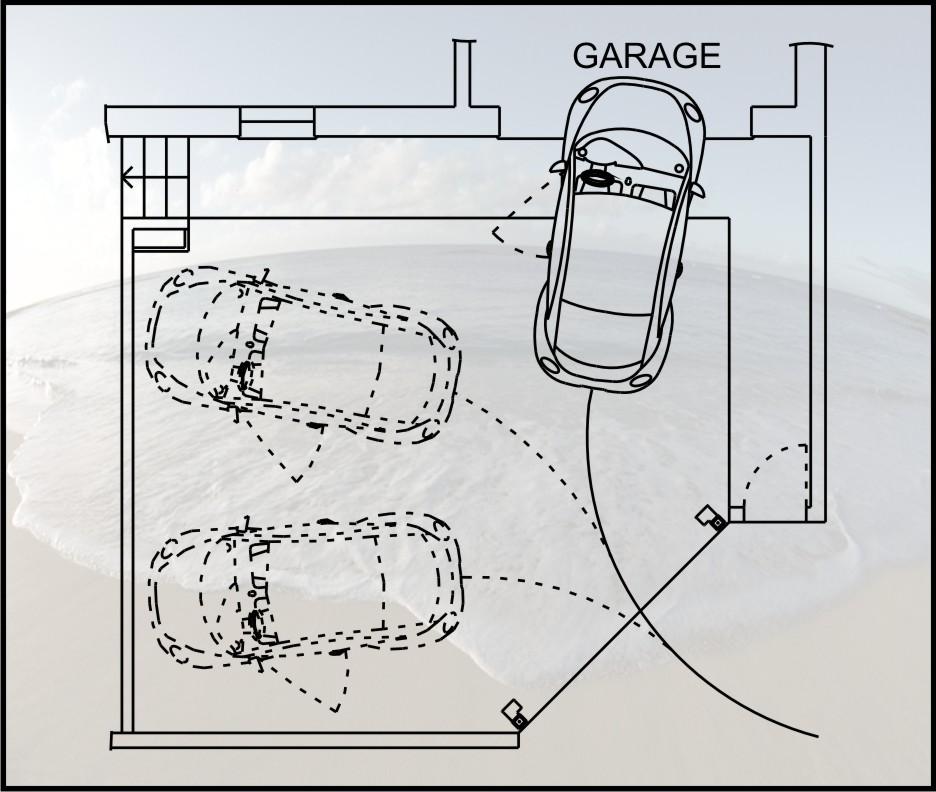 Elcenfer ingressi carrai con limitata area di manovra e for Garage per due auto e mezzo