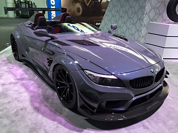 Bulletproof BMW Z4 GT Continuum One Tuning