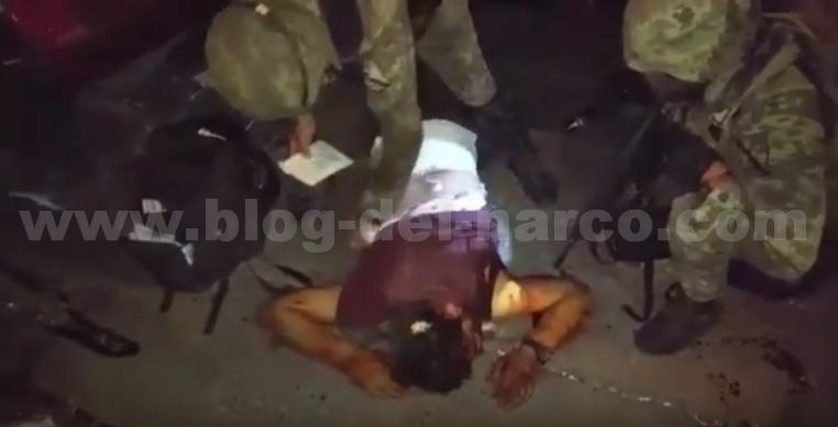 VIDEO; Militares graban a Sicarios de los ANTRAX siendo auxiliados tras enfrentamiento donde murió el Sargento Phoenix