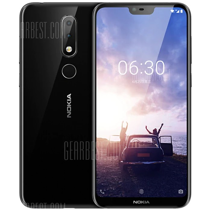 NOKIA X6 5.8 inch 4G Phablet International Version Coupon