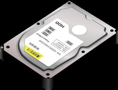 Gambar Hard Disk Drive Komputer