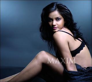 Neetu Chandra Maxim Magazine