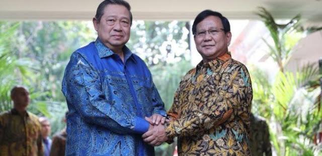 Demokrat: Prabowo dan SBY Tidak Akan Pernah Ketemu di Lapangan, Soalnya…