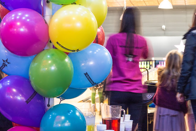 A bowling party with balloons and host the Kid's ultimate party package at Hollywood Bowl Dagenham