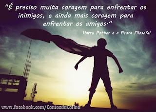 Frases com fotos para Facebook harry potter
