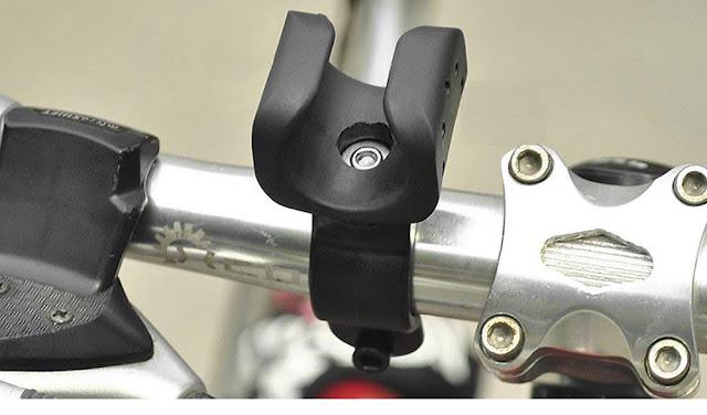 Suport pentru lanterna bicicleta (rotire 360 grade)