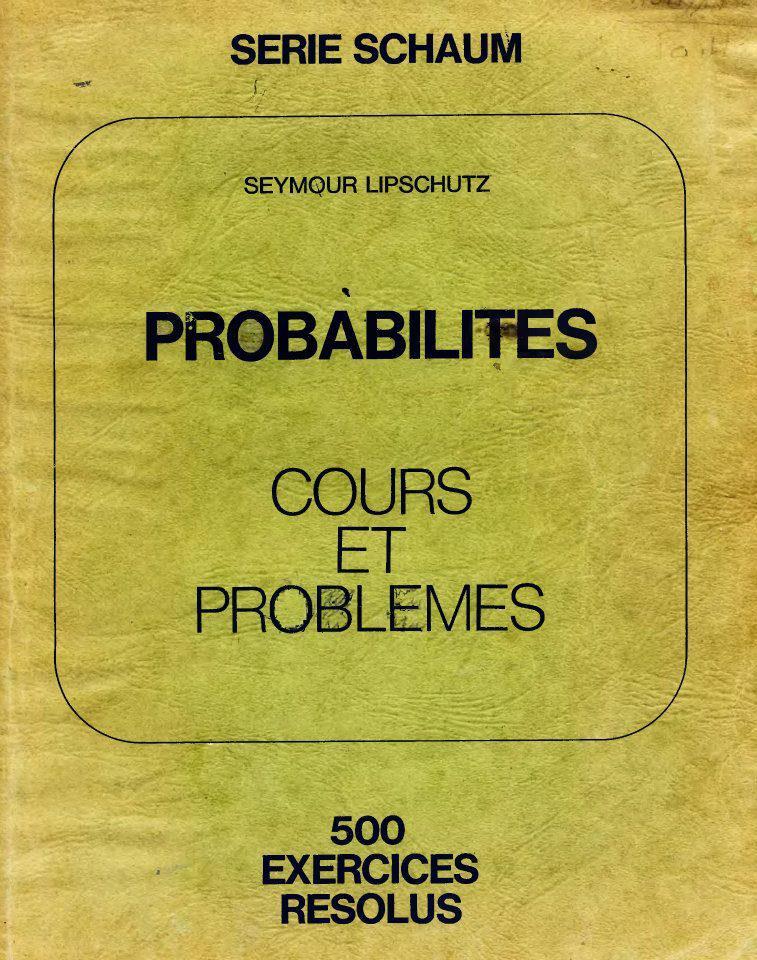 serie schaum probabilité