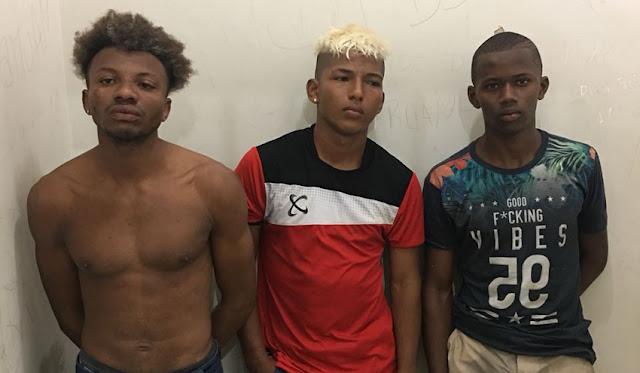 Trio sequestra motorista e é preso na avenida dos Franceses
