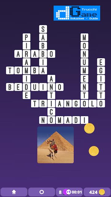 Soluzioni One Clue Crossword livello 3 schema  10 (Cruciverba illustrato)  | Parole e foto