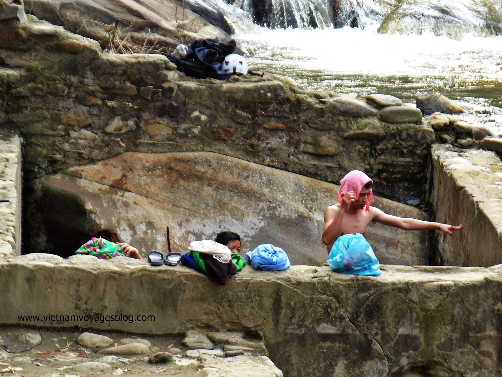 Tắm tiên ở Tú Lệ, Yên Bái 2014