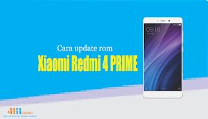 Cara update rom xiaomi redmi 4 Prime (Markw)
