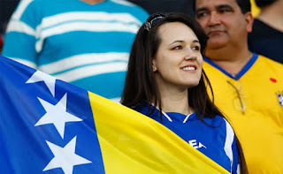 Bosnia & Herzegovina Beautiful fans