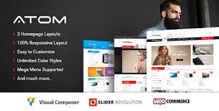 Atom v1.0.4 Responsive WooCommerce WordPress Theme - Themeforest