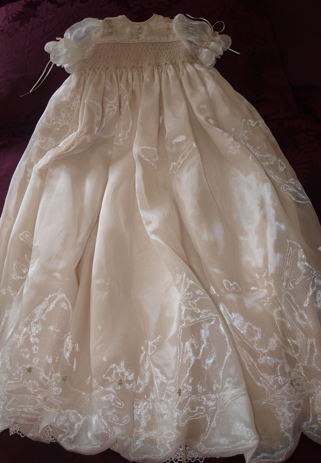 A Little Bit of Heaven...: Heirloom Christening Gown
