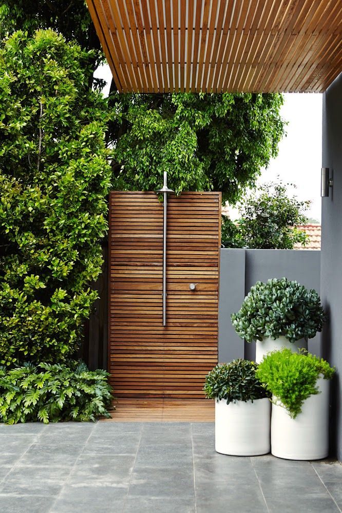tiles-and-plants-wooden-outside-shower