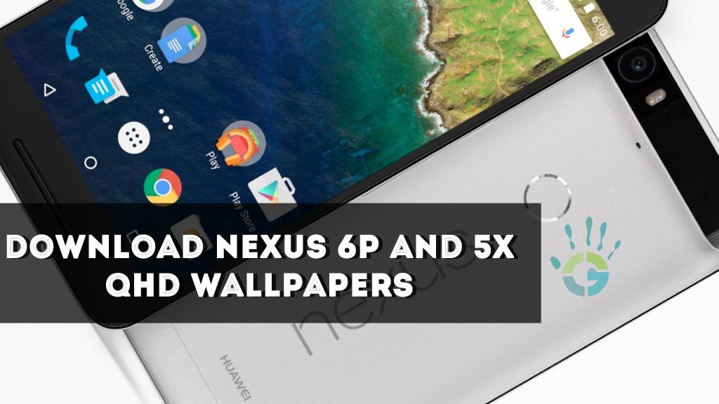 Download HD Stock Wallpapers Of Nexus 6P and 5X in zip