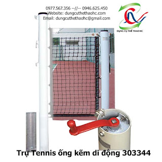 Trụ Tennis ống kẽm di động 303344