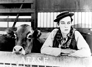 Go West Buster Keaton 1925 silent comedy classic