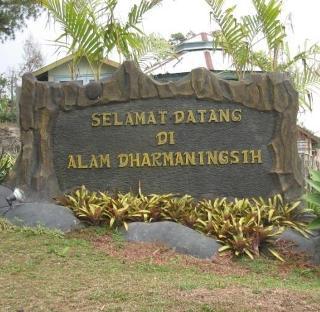 DP bbm wisata alam Dharmaningsing