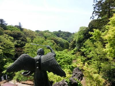 建長寺の新緑