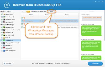 Iphone Backup Extractor Whatsapp