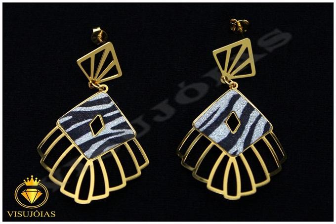 Semi-jóias brincos